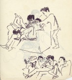 198 pestalozzi sketches - tibetan boys