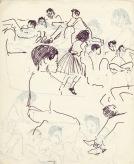 199 pestalozzi sketches - tibetan children