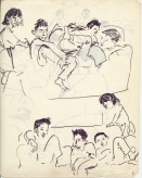 200 pestalozzi sketches - tibetan children
