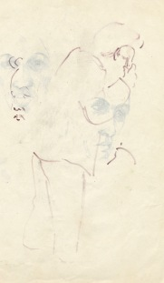 202 pestalozzi sketches - mr ngwang on phone