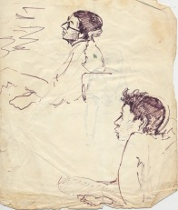 205 pestalozzi sketches - indian boys