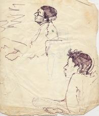 205 pestalozzi sketches - indian boys