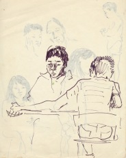 206 pestalozzi sketches - tibetan boys
