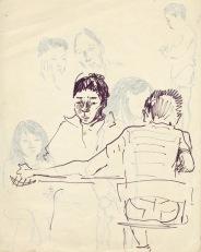 206 pestalozzi sketches - tibetan boys