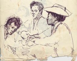 208 pestalozzi sketches - ngwang family