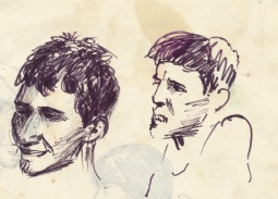 209 pestalozzi sketches - boys