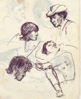 210 pestalozzi sketches - mrs ngwang