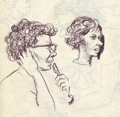 216 pestalozzi sketches - staff