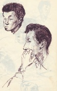 236 pestalozzi sketches - tibetans
