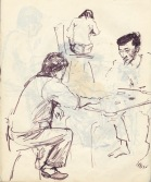240 pestalozzi sketches - tibetans
