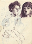249 pestalozzi sketches - girls