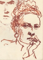 266 Pestalozzi sketches - Marie-claude