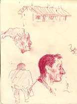 267 Pestalozzi sketches - character study