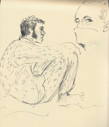 272 Pestalozzi sketches - dave and marie claude