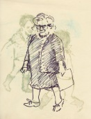 282 Pestalozzi sketches - Mrs Morrison