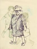 282 Pestalozzi sketches - Mrs Morrison
