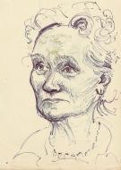 297 Pestalozzi sketches - elevenses