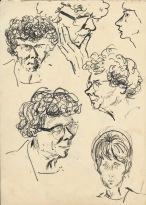 305 Pestalozzi sketches - elevenses