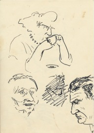 307 Pestalozzi sketches - elevenses