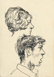 309 Pestalozzi sketches - John and ...?