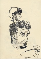 311 Pestalozzi sketches - Mr Campbell & Shyama