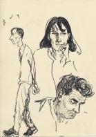 312 Pestalozzi sketches - Mr Mountain, Vreni & Mr Campbell