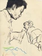 313 Pestalozzi sketches - Kristina Mountain & Max