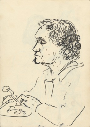 314 Pestalozzi sketches - lunch