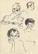 316 Pestalozzi sketches - lunch