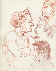 322 Pestalozzi sketches - lunch