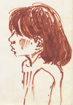 324 Pestalozzi sketches - tibetan girl