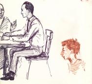 325 Pestalozzi sketches - Tashi visits
