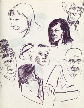330 Pestalozzi sketches - watching Love Thy Neighbour
