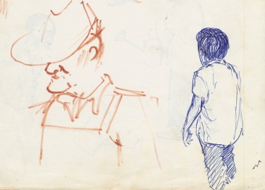 333 Pestalozzi sketches - Mr Ngwang