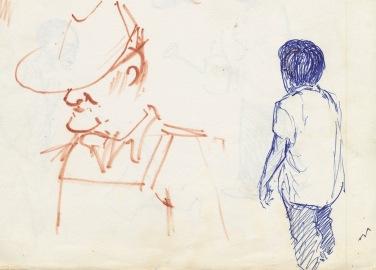 333 Pestalozzi sketches - Mr Ngwang