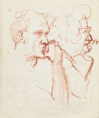 336 Pestalozzi sketches - brian and mrs M
