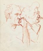 336 Pestalozzi sketches - brian and mrs M