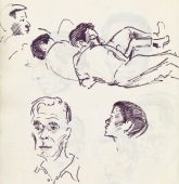 338 Pestalozzi sketches - boys