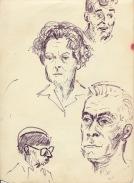 90 pestalozz sketches - sussex staff