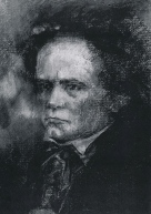 beethoven chalk drawing