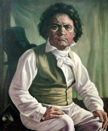 beethoven painting by batt