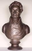 Klein, Franz: Beethoven-Büste; späterer Abguß der originalen Streicher-Gipsbüste