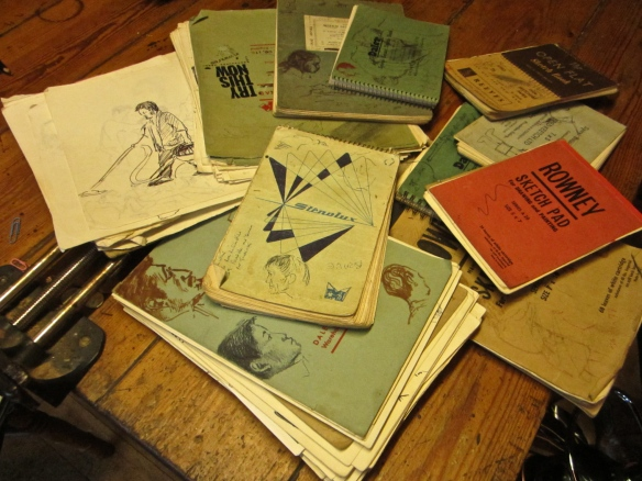 Pestalozzi Sketchbooks, 1968