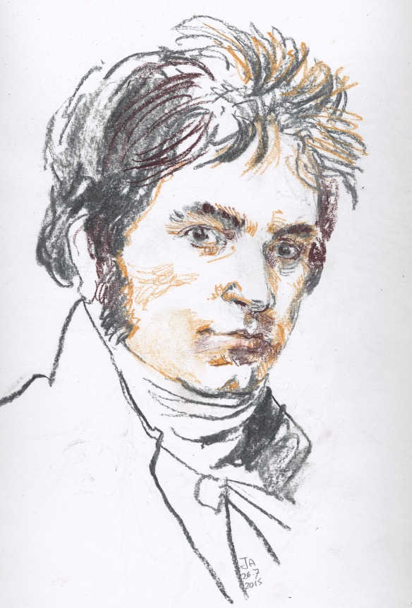 Young Beethoven, after Hornemann
