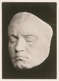Klein, Franz: Lebendmaske Beethovens im 3/4 Profil - Foto von Simon