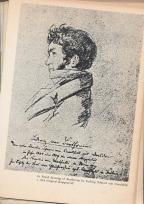 Pencil drawing by Ludwig Schnorr von Carolsfeld, 1808