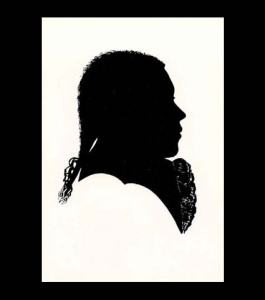 silhouette of Beethoven at 16