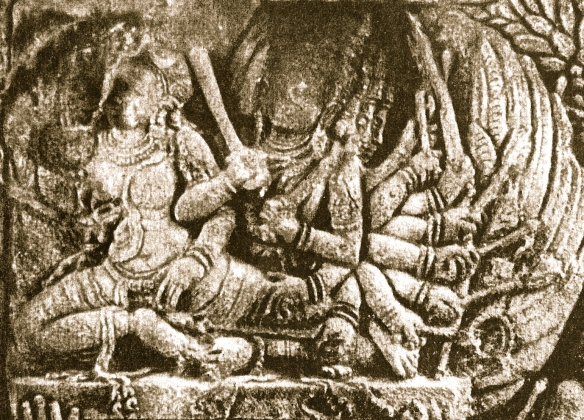 Visual reference - Ravana king of Asuras abducts Sita