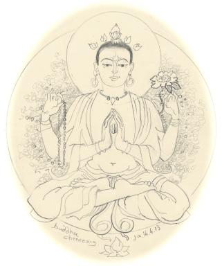 buddha chenrezig '13