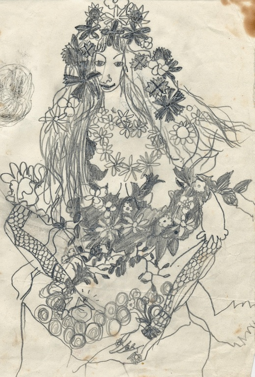 1957 Flora, after Botticelli